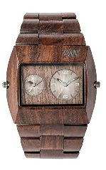 WeWood Jupiter RS Chocolate Herren-Holzuhr WW02015
